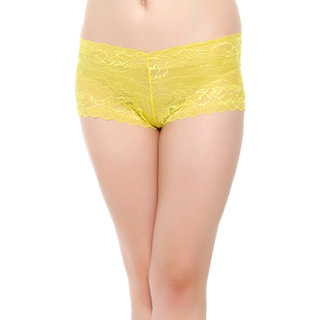 Hipster In Yellow Lace  (PN0341P43)