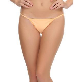 Sexy Lacy Bikini In Light Orange  (PN0370Q16)