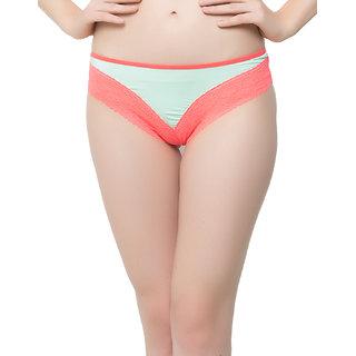 Lacy Bikini In Light Green  (PN0371P11)