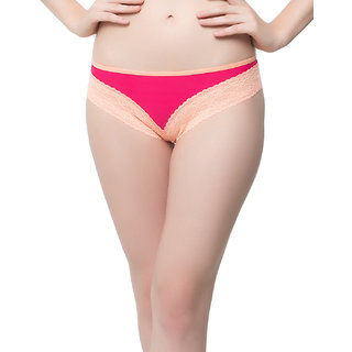 Lacy Bikini In Hot Pink  (PN0371P14)