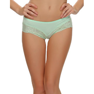 Lacy Hipster In Light Green  (PN0374P11)