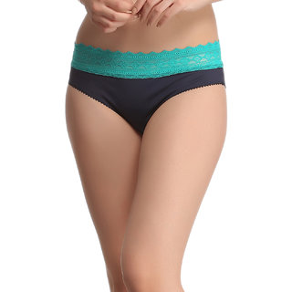Trendy Lacy Panty In Blue  (PN0381P08)