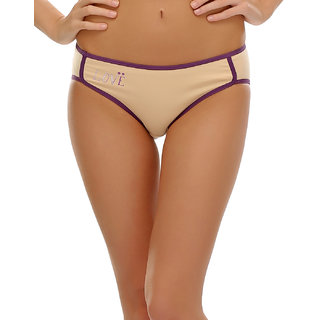 Clovia  Comfy Cotton Printed Bikini  (PN0382P24)