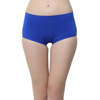 Soft Stretchy Hipsters In Blue  (PN0406P08)