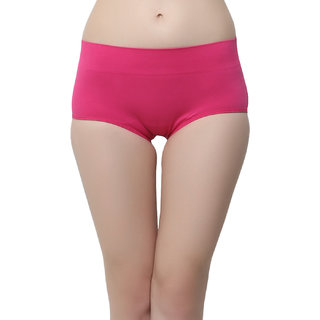 Soft Stretchy Boy Hipsters In Pink  (PN0406P14)