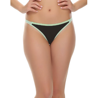 Sexy Thong In Black  (PN0411P13)