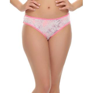 Printed Bikini With Sexy Back  (PN0414P22)