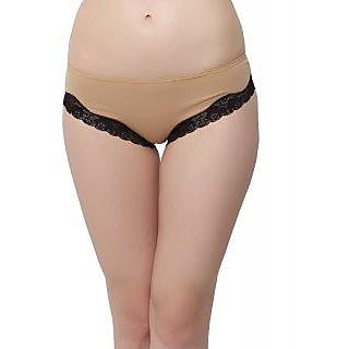 Sexy Lacy Bikini In Beige  (PN0421P24)