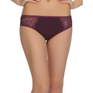 Lace Bikini In Dark Purple  (PN0444P15)