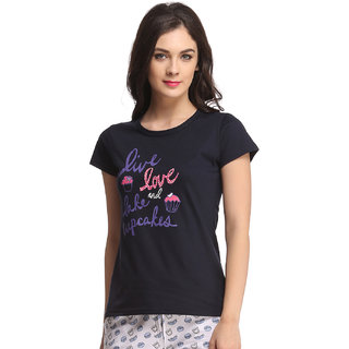 Trendy Graphic T-Shirt In Cotton  (LT0070A08)