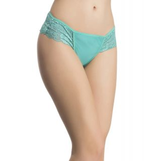Lacy Powernet Panty In Turquoise  (PN0501P03)