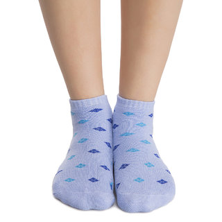 Blue Short Ankle Socks  (SC0002P03)