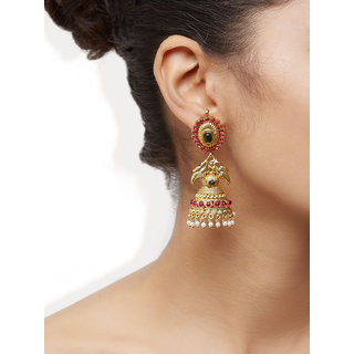 Alankruthi Dripping In Tradition Jhumkis