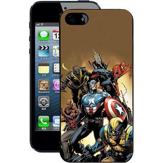Instyler Digital Printed Back Cover For Apple I Phone 5S IP5SDS-10290