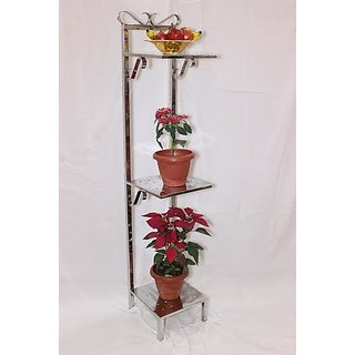 Designer Steel Flower Pot Stand