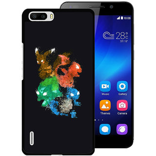 Instyler Digital Printed Back Cover For Huawei Honor 6 Plus HWH6PDS-10236