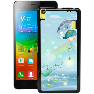 Instyler Digital Printed Back Cover For Lenovo A7000 LENA7000DS-10246