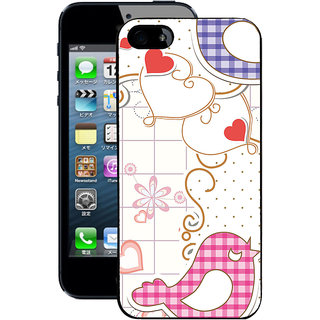 Instyler Digital Printed Back Cover For Apple I Phone 4S IP4SDS-10253