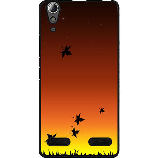 Instyler Digital Printed Back Cover For Lenovo A6000 Plus LENA6000PDS-10105