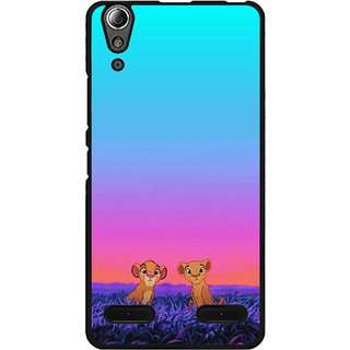 Instyler Digital Printed Back Cover For Lenovo A6000 Plus LENA6000PDS-10133