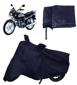Autoplus Navy Blue Bike Cover Hero Splendor