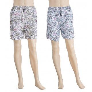 Karwan International Shorts Printed Multicolor Set Of 2 Combo 1 - ST100032-35