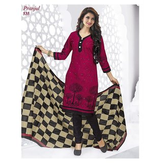 Shree Ganesh Salwar Material 100 cotton (Unstitched)