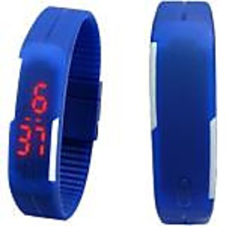 Digital Led Watch Blue - set of 2