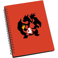ShopMantra Pokemon carlizard evolution Notebook