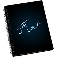 ShopMantra Just Live Notebook
