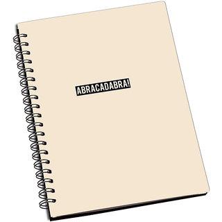 ShopMantra ABRACADABRA Notebook