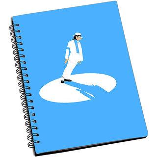 ShopMantra Micheal Jackson Minimal Pose Notebook