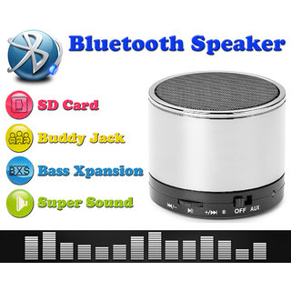 Portable Wireless Mini Bluetooth Speaker With Mic, Aux &TF Card Input , 45W - 2491580