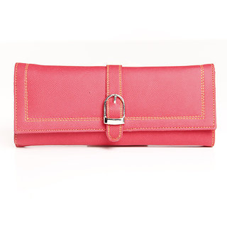 Estycal Trendy Pink Clutch