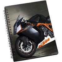 ShopMantra KTM Stylish Bike Notebook