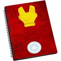 ShopMantra Iron MAn Minimal Art New Notebook
