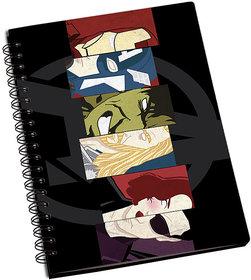 ShopMantra The Avengers fan Art Notebook