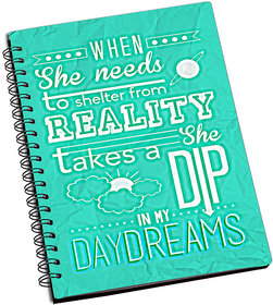 ShopMantra She Is In My Day Dreams Notebook