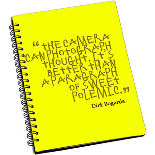ShopMantra Camera can Photograph thought Notebook