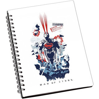 ShopMantra Man OF Steel Artwork Notebook