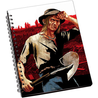 ShopMantra Red Dead Redemption Seth Briars Notebook