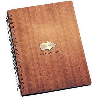 ShopMantra Keep Moving Forward Notebook