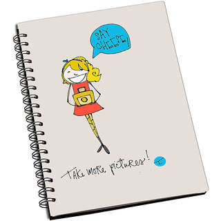ShopMantra Say Cheese Notebook