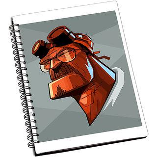 ShopMantra Walter White Monster Notebook