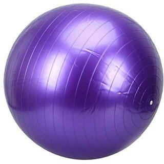 Mor Sporting Anit Burst 85 Cm Gym Ball - Purple