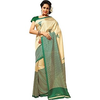 Sunaina Printed Fashion Art Silk Sari SAREC8QGM25A8HEV