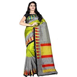 Sunaina Printed Fashion Art Silk Sari SAREDF5EUZ8NHQ5G