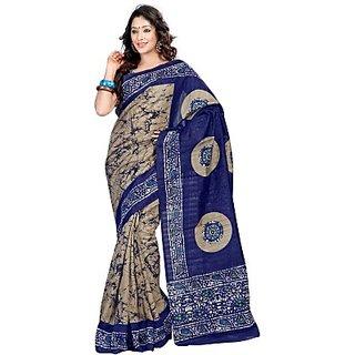 Sunaina Printed Fashion Cotton Lycra Blend Sari SARE8BZHBTRJFJKY