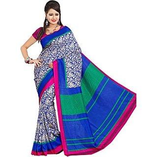 Sunaina Printed Fashion Art Silk Sari SAREDF6YJHUNYTZD