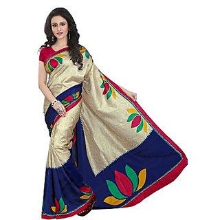 Sunaina Printed Fashion Art Silk Sari SAREDF6YZKUDXSDA